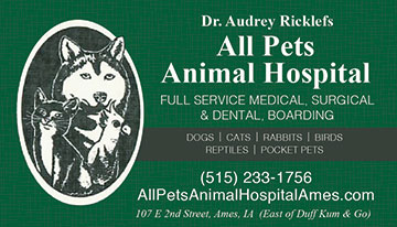 Veterinarian Partners Animal Rescue League Of Iowa