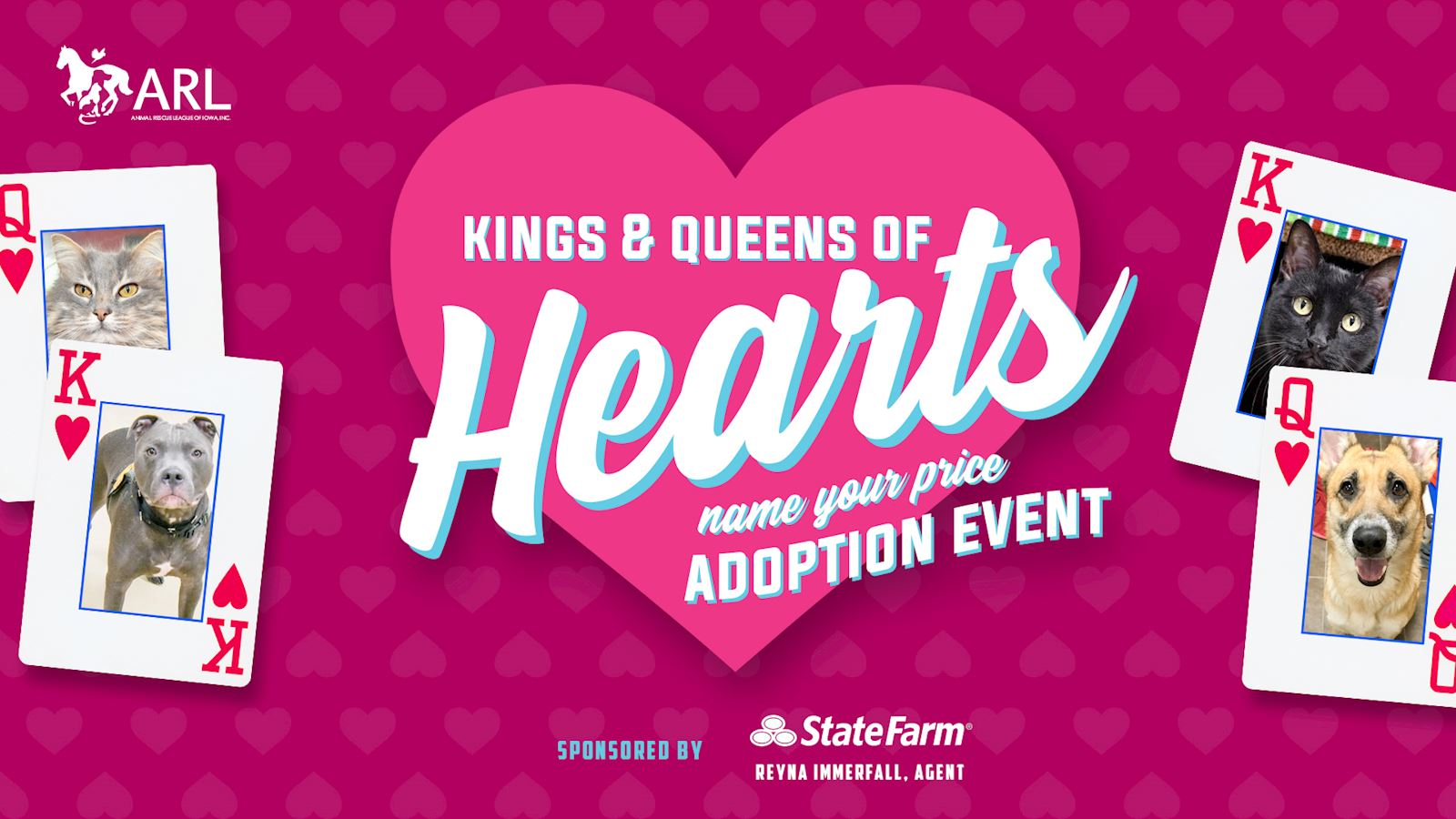 Kings & Queens of Hearts  Adoption Event