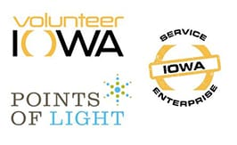 Volunteer Iowa points of light