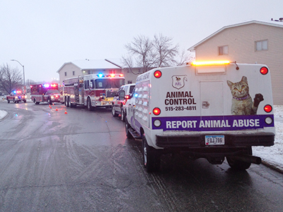 ARL Rescues Pets from Apartment Fire