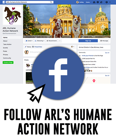 Follow ARL's Humane Action Network