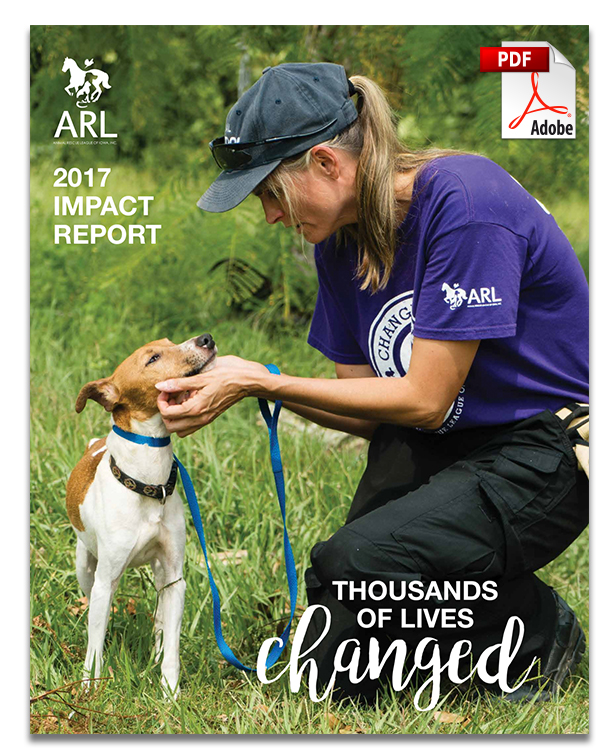 Impact Report | Animal Rescue League of Iowa