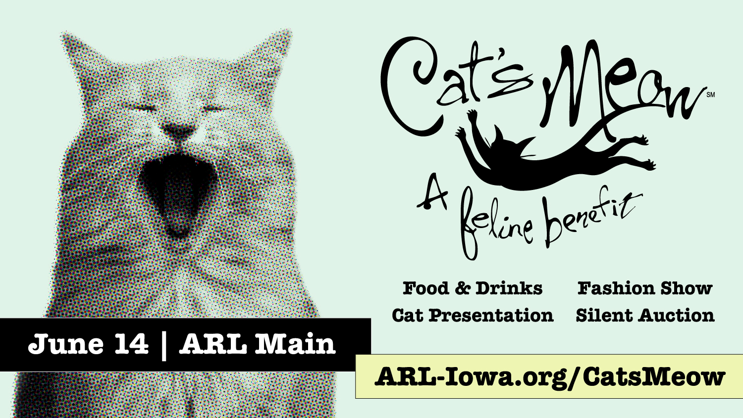 Cat S Meow 2018 Animal Rescue League Of Iowa