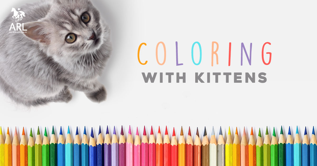 Coloring with Kittens
