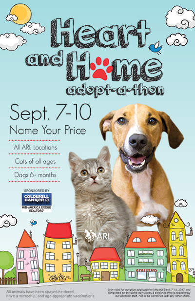 Heart And Home Adopt A Thon Animal Rescue League Of Iowa